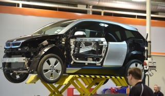 BMW i3 in factory