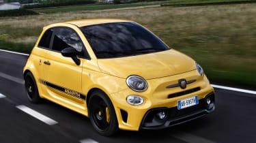 Abarth 595 Competizione - front driving