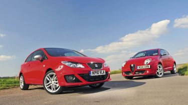 SEAT Ibiza vs Alfa MiTo