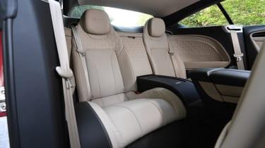 Bentley Continental GT - rear seats