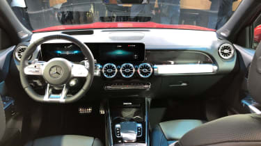 Mercedes GLB 35 AMG - interior