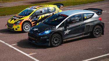 Rallycross Championship 5 Nations Trophy: electric vs petrol