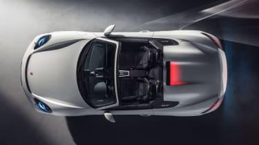 Porsche 718 Boxster Spyder - above
