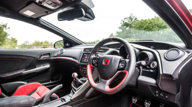 New Honda Civic Type R 2015 interior