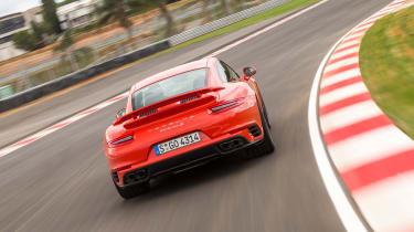Porsche 911 Turbo S 2016 - rear cornering 2