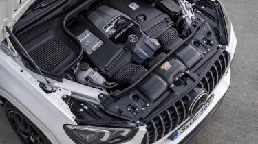 Mercedes-AMG GLE 63 S Coupe - engine