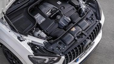 Mercedes-AMG GLE 63 S Coupe - engine