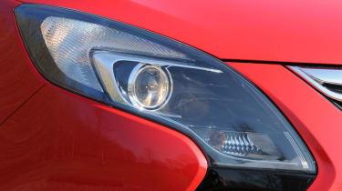 Vauxhall Zafira Tourer light