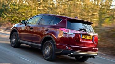Toyota RAV4 Diesel 2016 - rear tracking