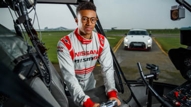 Remote control Nissan GTR/C - Jann Mardenborough