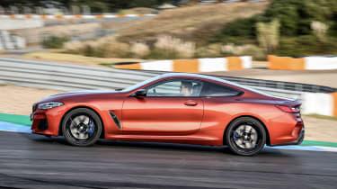 BMW 8 Series - track side
