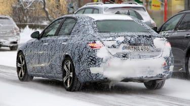 Mercedes C-Class - spyshot 7