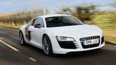 Audi R8 4.2 Coupe Limited Edition front tracking