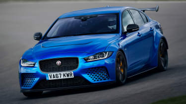 Jaguar XE SV Project 8 - front