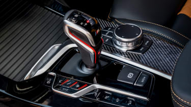 BMW X3 M Competition - centre console
