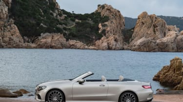 Mercedes E-Class Cabriolet 2017 - AMG Line roof open