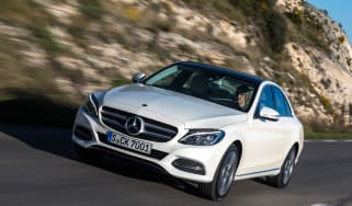 Mercedes C200 BlueTec front