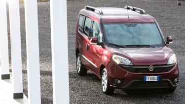 Fiat Doblo  - parked