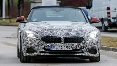 New BMW Z4 front end