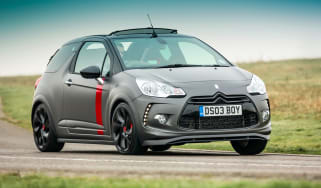 Citroen DS3 Cabrio Racing front action