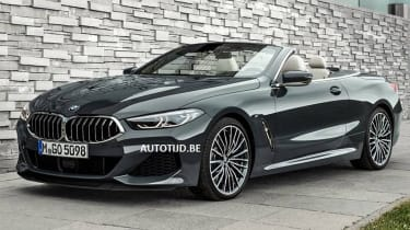 bmw 8 series convertible leaked static