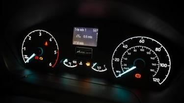 MS-RT Ford Transit Custom dials