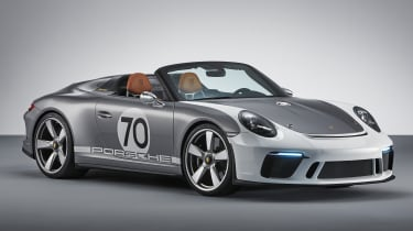 New Porsche 911 Speedster Concept - front