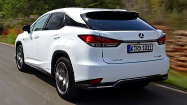 Lexus 450h F Sport - rear tracking
