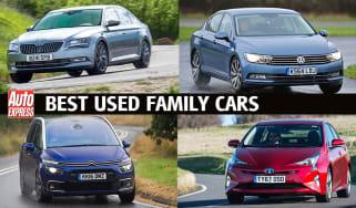 Best used family cars header