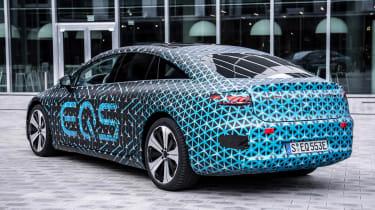 Mercedes EQS prototype - rear static