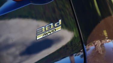 Jaguar F-Pace 3.0d 2016 - engine badge
