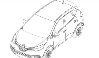 Renault Captur patent drawings front