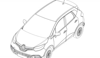 Renault Captur patent drawings front