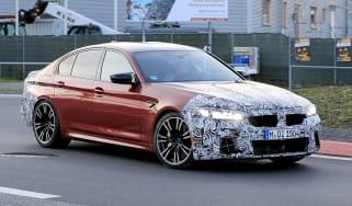 BMW M5 facelift - spyshot 2
