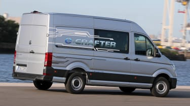 Volkswagen e-Crafter rear