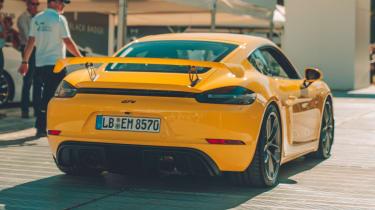 Porsche 718 Cayman GT4 - rear static