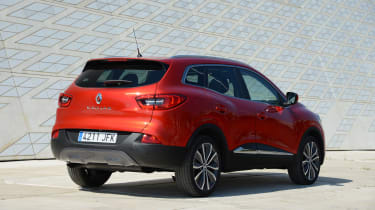New Renault Kadjar 2015 rear static