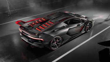 Lamborghini SC18 - rear grey