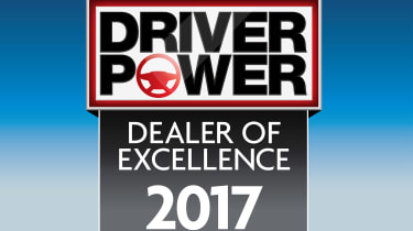Driver Power dealer of excellence 2017