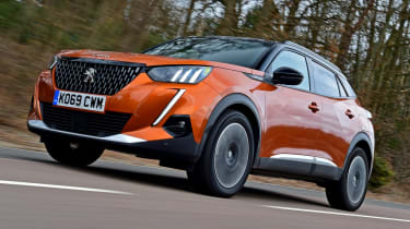 Most reliable small cars to buy 2021 - Peugeot 2008