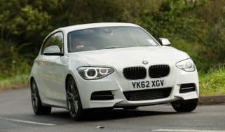 BMW M135i front cornering