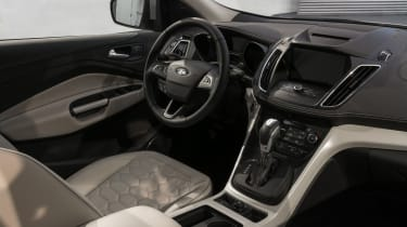 Ford Kuga Vignale Concept - studio interior