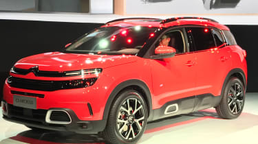 Citroen C5 Aircross reveal