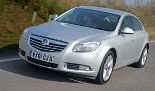 Vauxhall Insignia 2.0 CDTI ecoFLEX front tracking