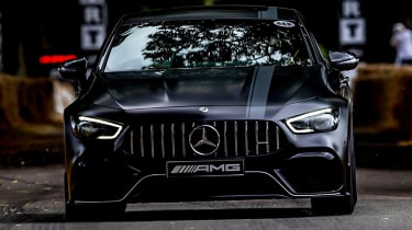 Mercedes-AMG GT four-door front end