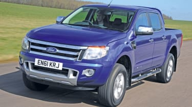 Ford Ranger front tracking