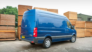 In many area's the Crafter is a better van the Mercedes Sprinter.