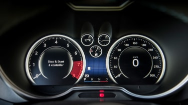 Alpine A110 ride review - dashboard