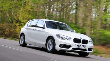 BMW 116d EfficientDynamics - driving