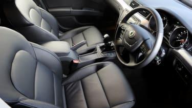 Skoda Superb Estate 4x4 interior
